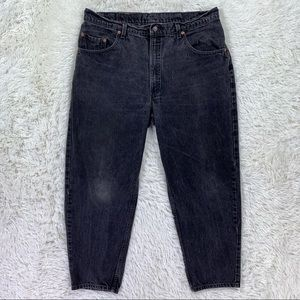VTG USA Levi's 560 Loose Tapered Black Jeans